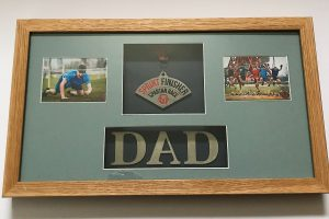 Father's Day Gift - personalised frame