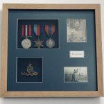 War Medals framed