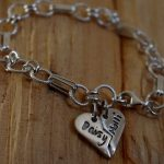 Personalised silver charm jewellery
